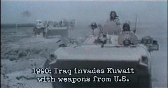 Iraq kuwait war images